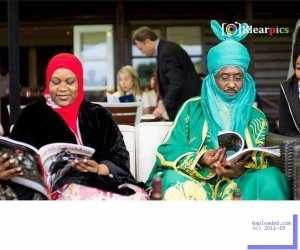 Photo: Emir Sanusi Spotted At London Polo Club
